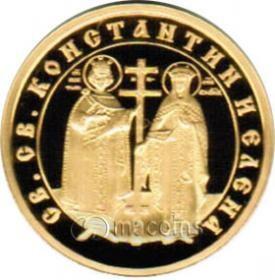 Bulgarian Iconography. St. St. Konstantin i Elena