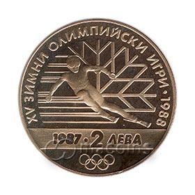 15th Winter Olympic Games, Calgary (Canada), 1988